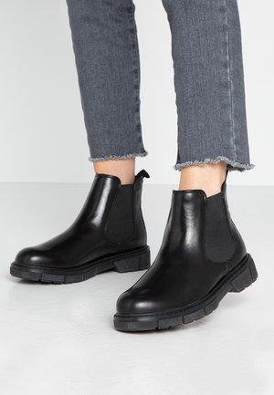 Kotníková obuv - black brush