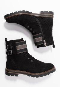 Marco Tozzi - Šněrovací kotníkové boty - black - 3
