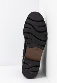 Marco Tozzi - Šněrovací kotníkové boty - black - 6
