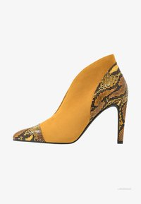 Marco Tozzi - High heeled ankle boots - saffron - 1