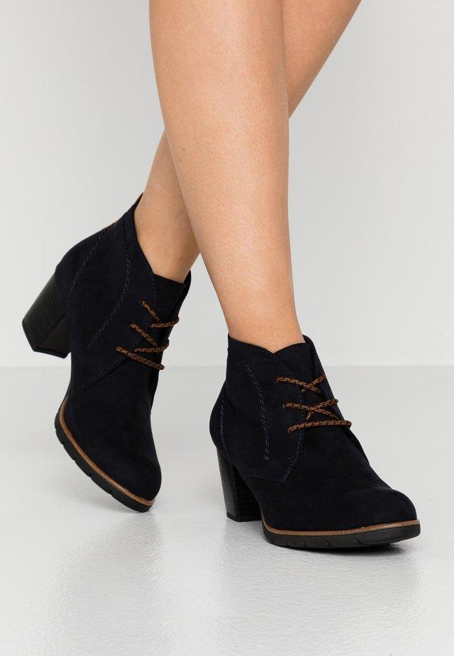 Ankle boots - dark navy