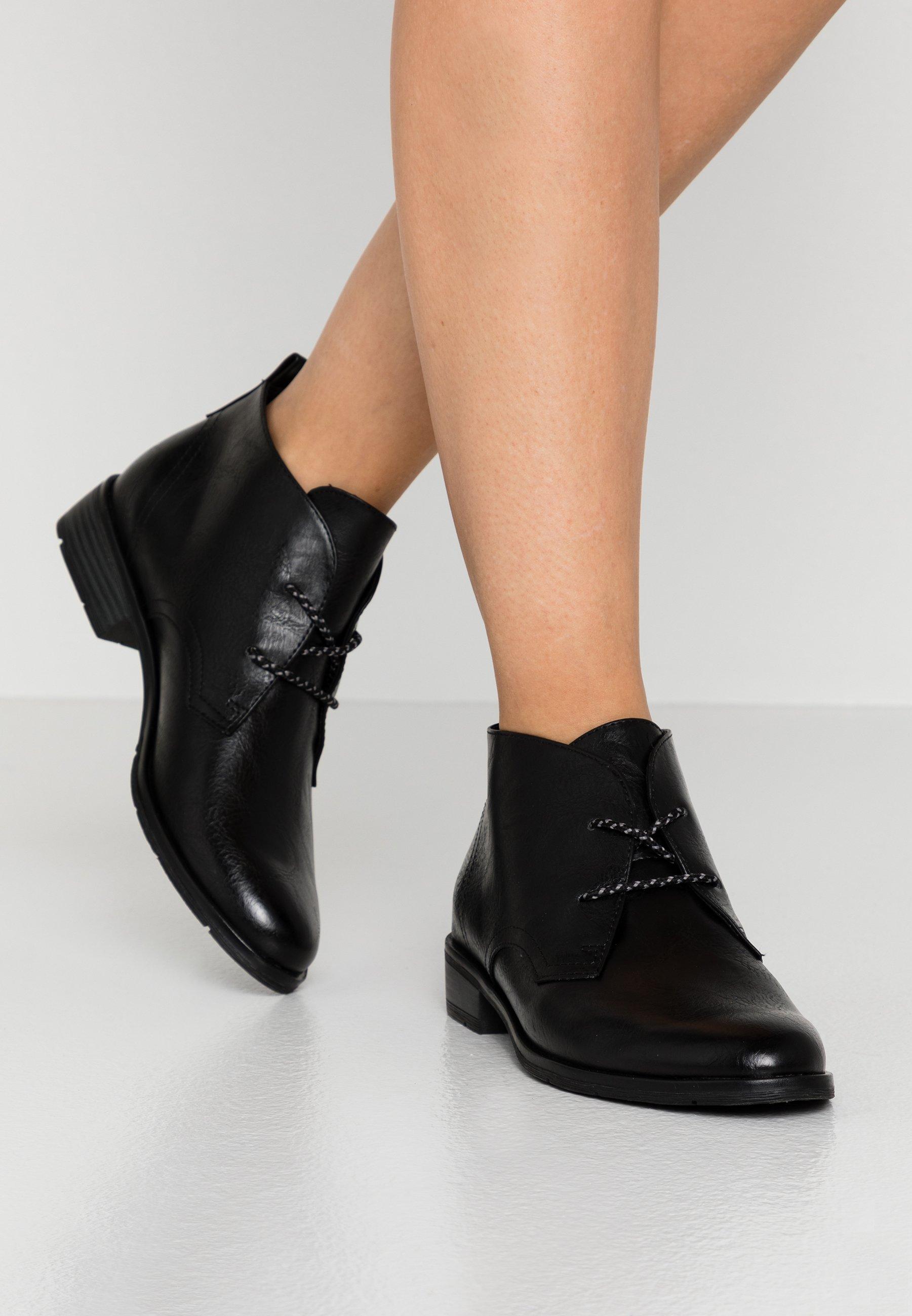 Marco Tozzi Boots à talons black antic ZALANDO.FR