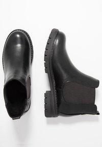 Marco Tozzi - Kotníková obuv - black - 3