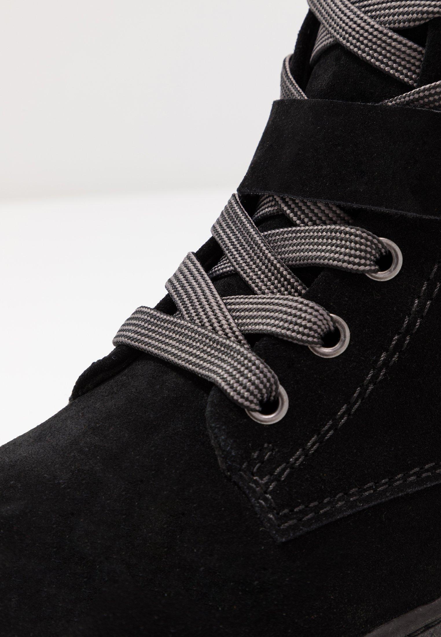 Marco Tozzi Bottines À Lacets - Black