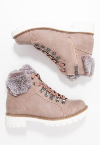 Marco Tozzi - Lace-up ankle boots - rose - 3