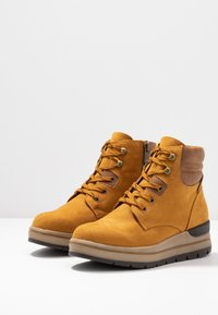 Marco Tozzi - Ankle boots - mustard - 4