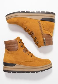 Marco Tozzi - Ankle boots - mustard - 3