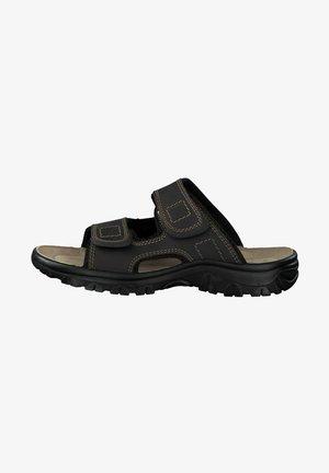 Domácí obuv - mocca comb