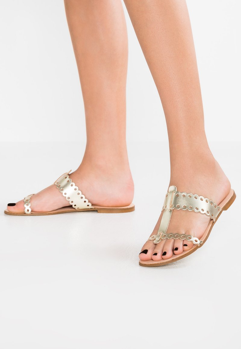 mint&berry - Mules - gold