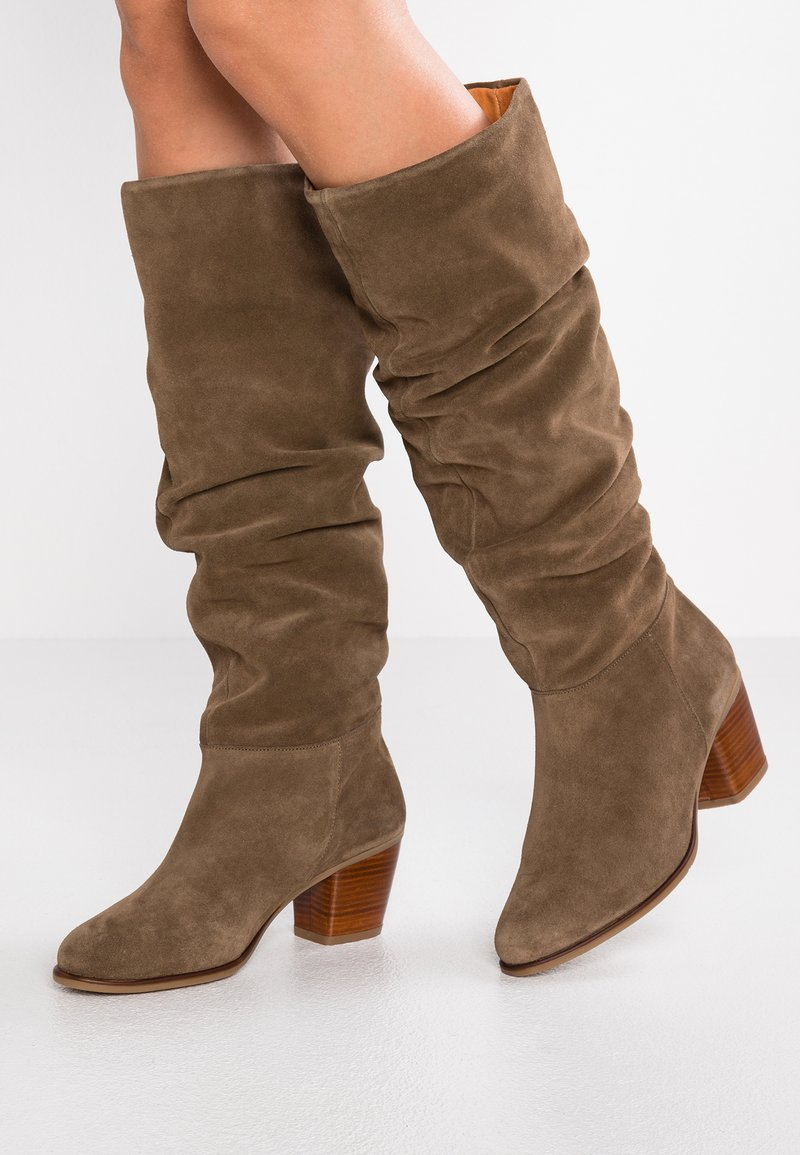 mint&berry - Boots - taupe