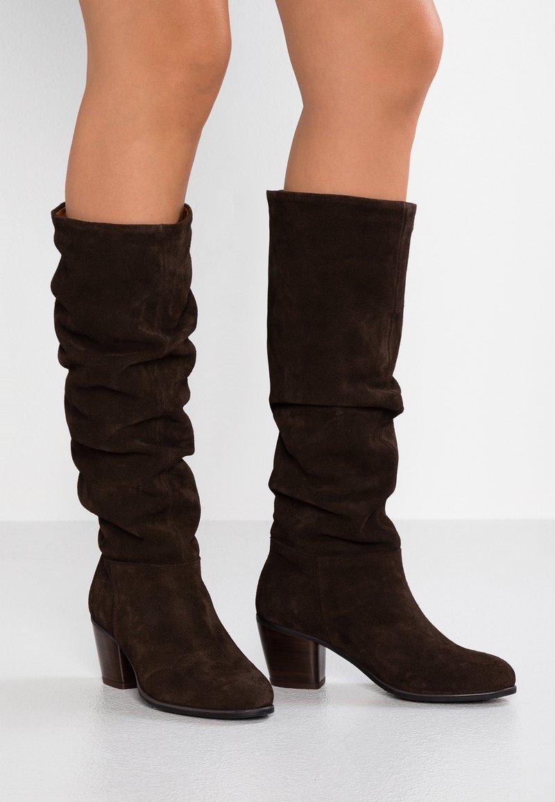 mint&berry - Boots - dark brown