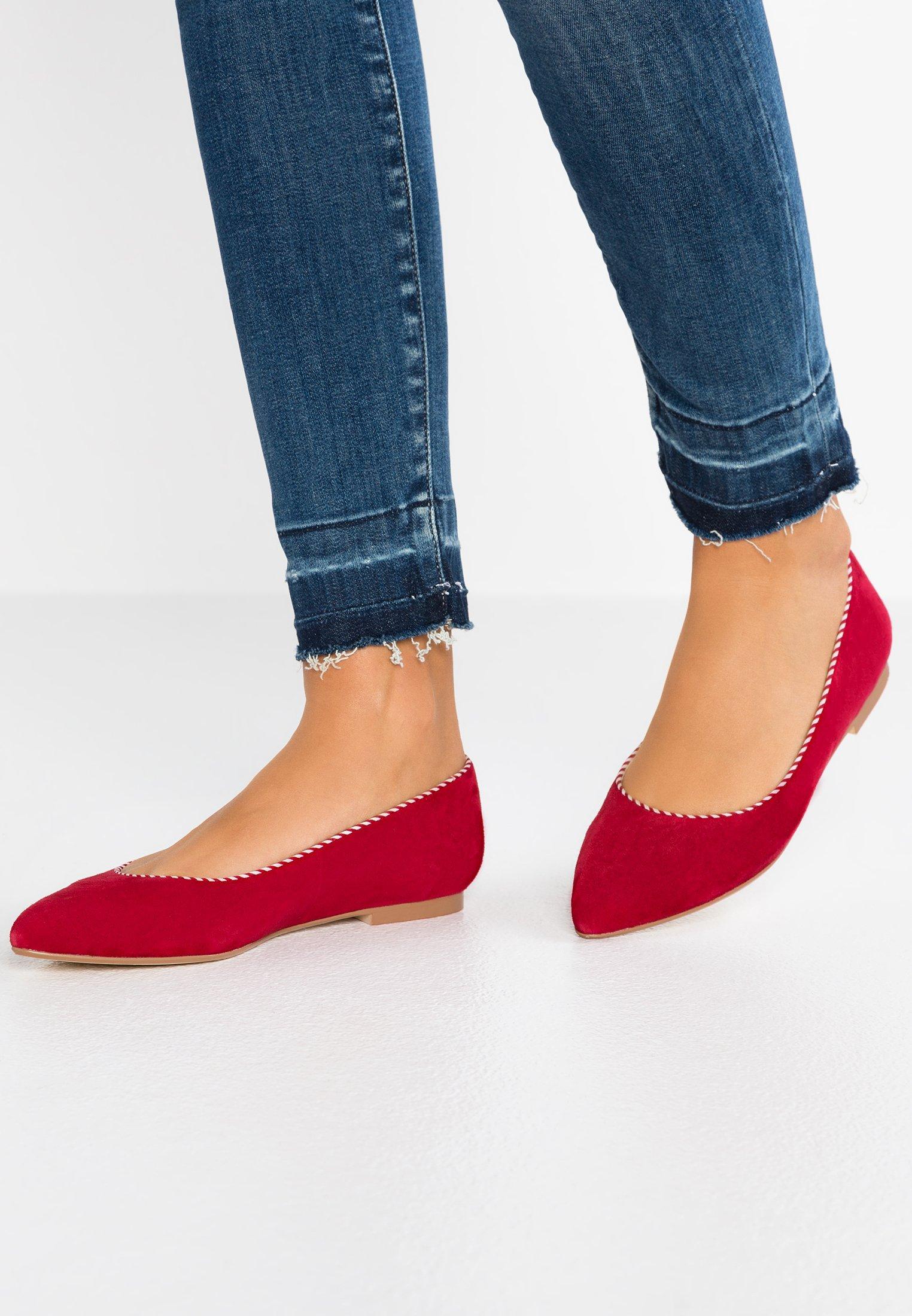mint&berry - Ballet pumps - red
