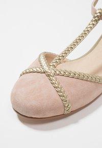 mint&berry - Ballerina med reim - beige - 2