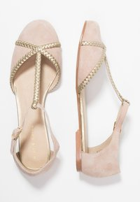 mint&berry - Ballerina med reim - beige - 3