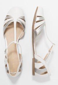 mint&berry - Ballerina med reim - white - 3