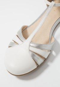 mint&berry - Ballerina med reim - white - 2