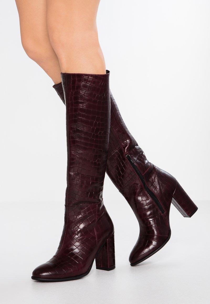 mint&berry - High heeled boots - dark brown