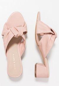mint&berry - Pantofle na podpatku - nude - 3