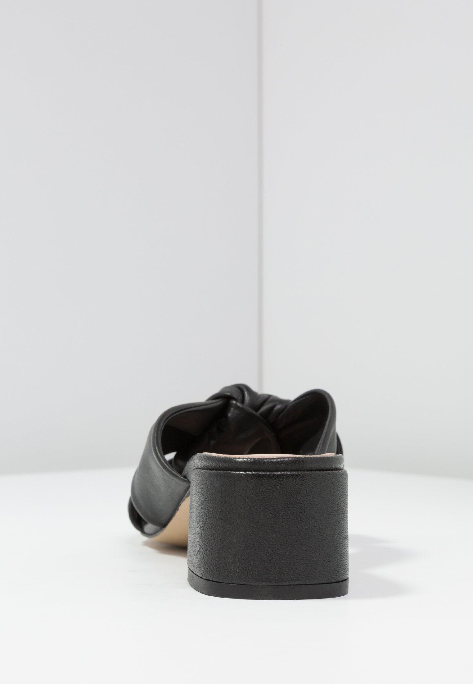 mint&berry Slip-ins med klack - black