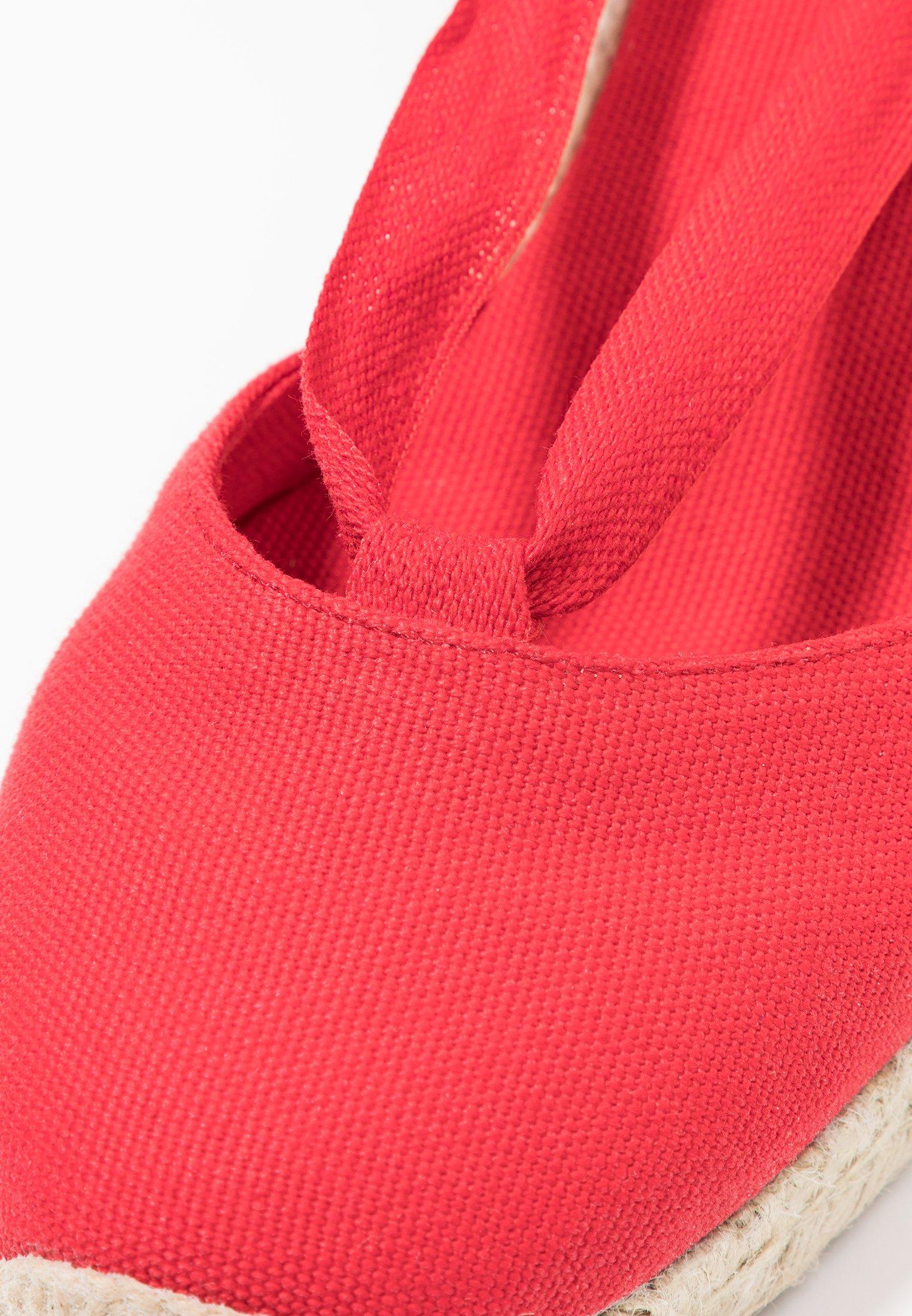 mint&berry Snørepumps - red