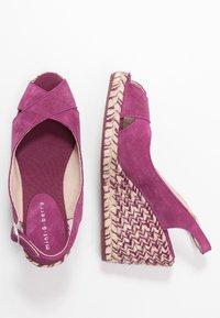mint&berry - Sandaler med høye hæler - dark purple - 3