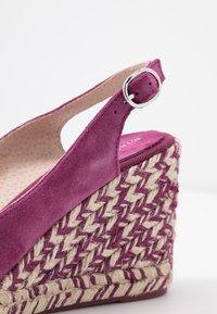 mint&berry - Sandaler med høye hæler - dark purple - 2