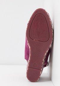 mint&berry - Sandaler med høye hæler - dark purple - 6