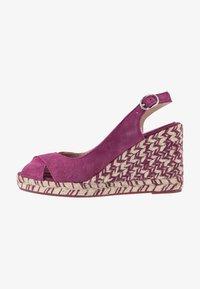 mint&berry - Sandaler med høye hæler - dark purple - 1