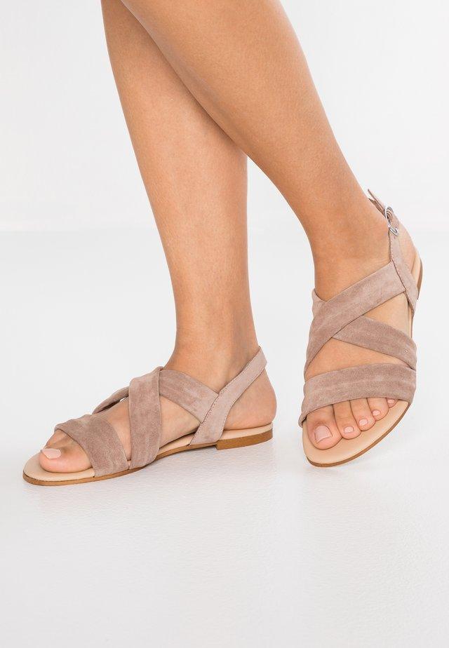 Sandalen - taupe