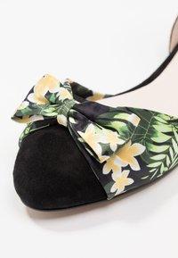 mint&berry - Ankle strap ballet pumps - black - 2