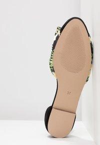 mint&berry - Ankle strap ballet pumps - black - 6