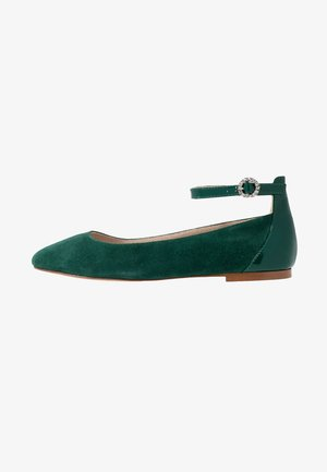 Ballet pumps - green