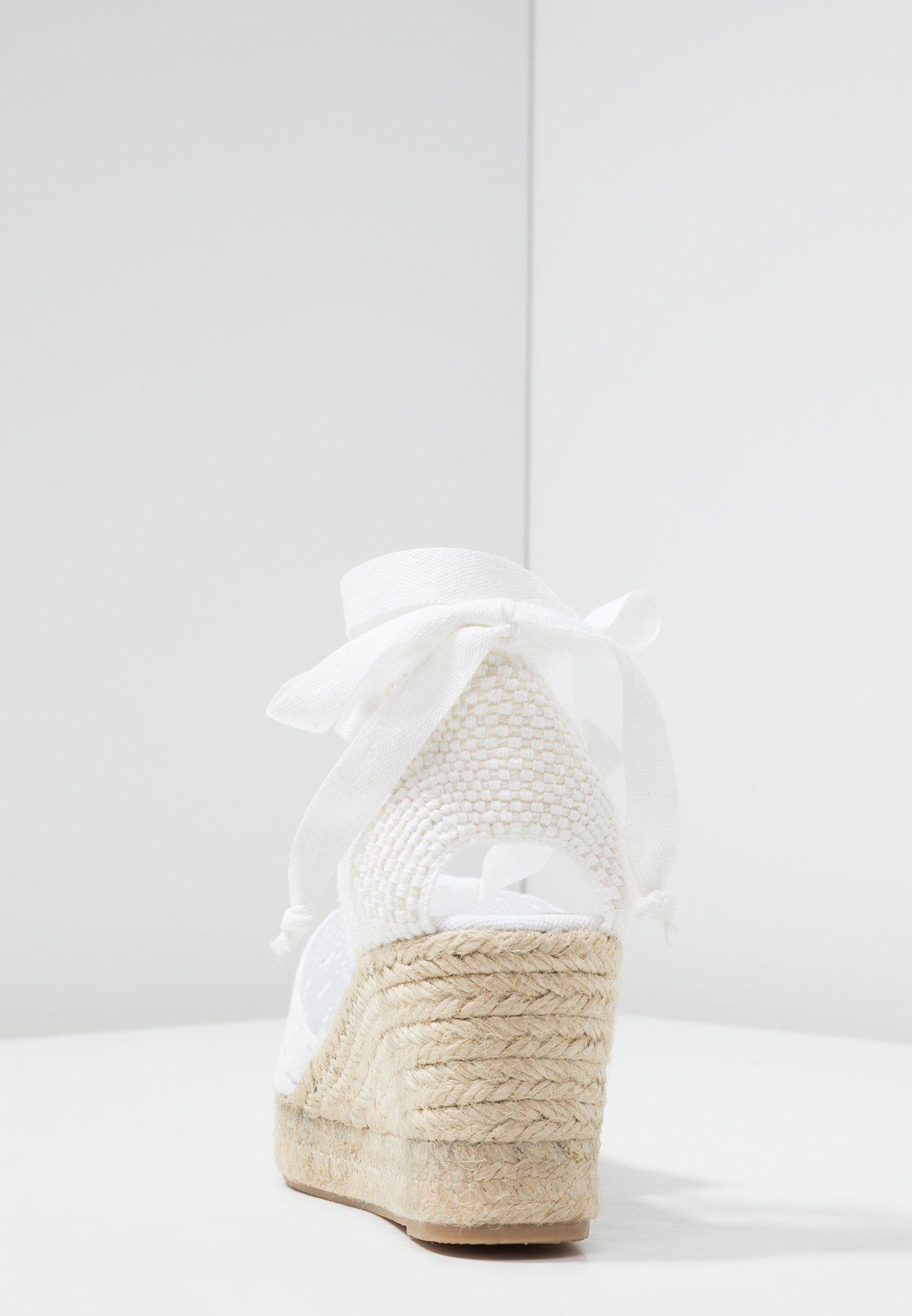 Mint&berry Sandales À Plateforme - White