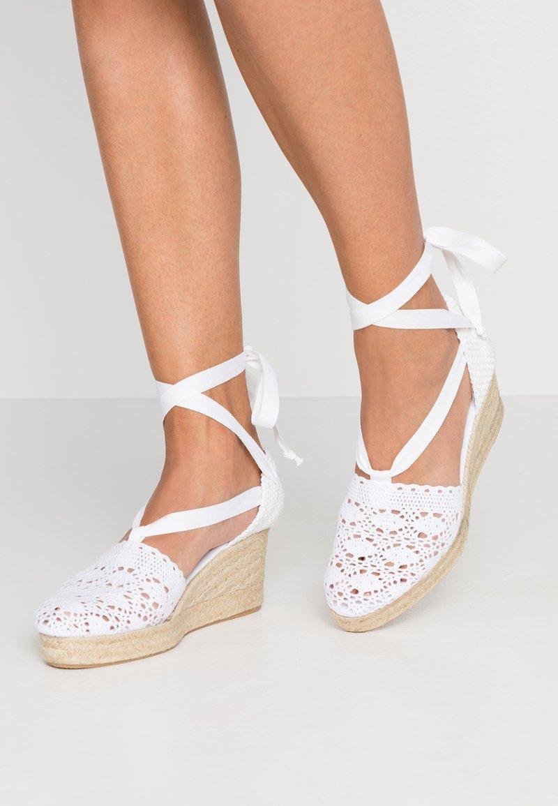 mint&berry - Platform sandals - white