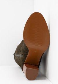 mint&berry - High heeled boots - khaki - 6