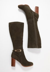 mint&berry - High heeled boots - khaki - 3