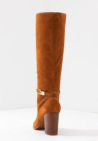 mint&berry - High heeled boots - cognac - 5