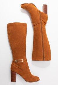 mint&berry - High heeled boots - cognac - 3