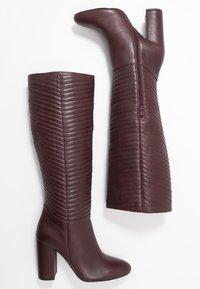 mint&berry - High heeled boots - bordeaux - 3
