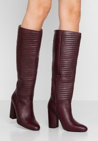 mint&berry - High heeled boots - bordeaux - 0