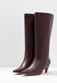 mint&berry - Boots - bordeaux - 4