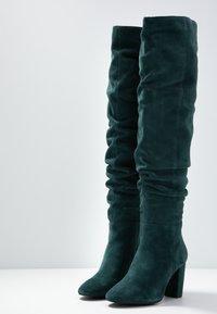 mint&berry - High heeled boots - dark green - 4