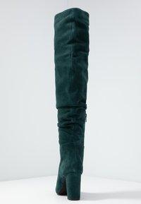 mint&berry - High heeled boots - dark green - 5
