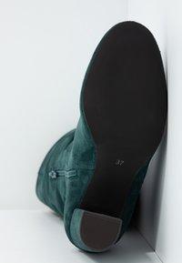 mint&berry - High heeled boots - dark green - 6