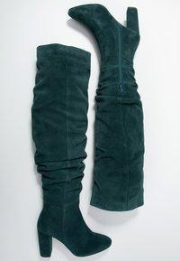 mint&berry - High heeled boots - dark green - 3