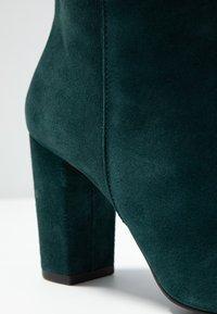 mint&berry - High heeled boots - dark green - 2