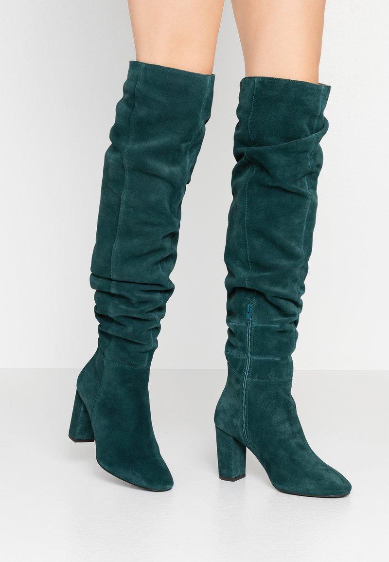 mint&berry - High heeled boots - dark green