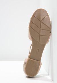 mint&berry - Ballerina med reim - nude - 5