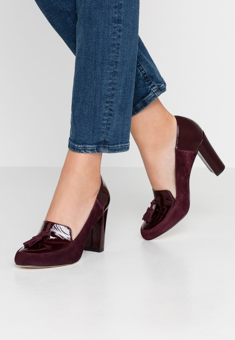 mint&berry - High heels - dark red