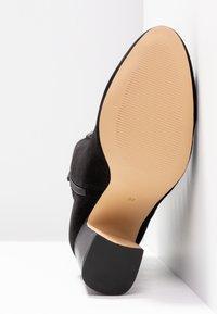 mint&berry - Kotníkové boty - black - 6